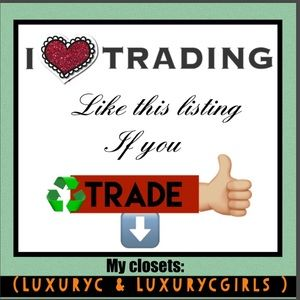 LIKE OR COMMENT if you TRADE too